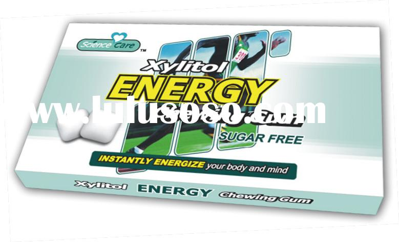Xylitol Energy Chewing Gum Sugar Free