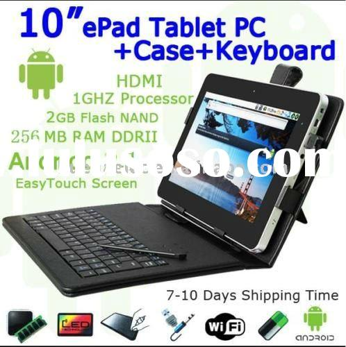 Zenithink ZEPAD ZT-180 tablet PC 10 inch leather case keyboard
