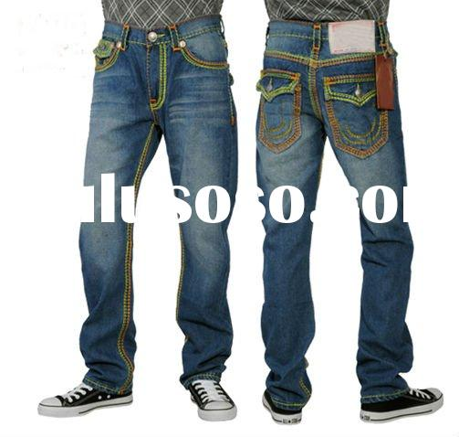 accept paypal,2011 hot selling denim men's jeans