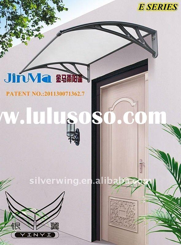 aluminum door/window awning