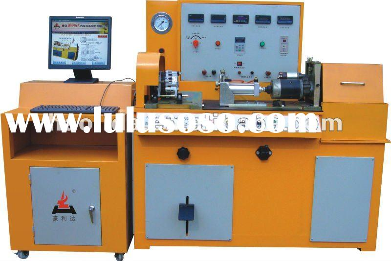 automobile alternator and generator and starter test bench