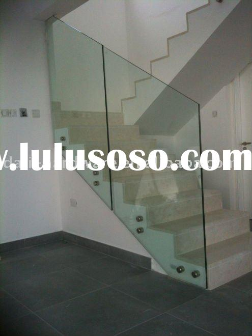 baluster/frameless glass railing/glass rail/stair glass/glass handrail