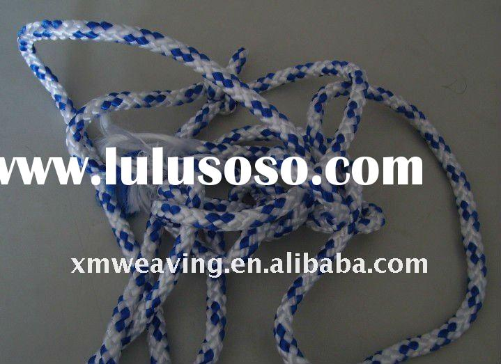 braided handle rope with plastic clip