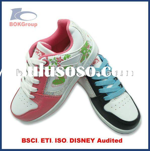 bright color kid casual shoes 2012 fashiona style