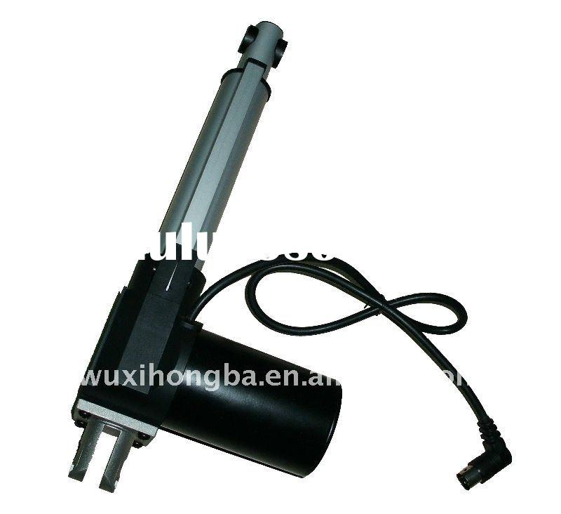 electric linear actuator with controller for medical equipment