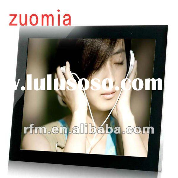 fashion 7 inch wooden digital photo frame