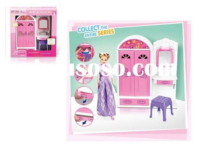 furniture play set/Wardrobe with light and music
