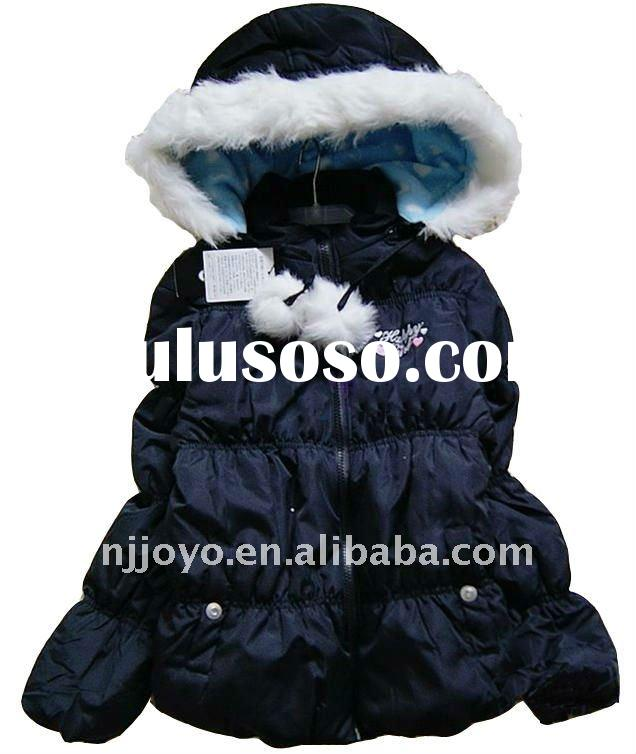 girl's fashion jacket,girl's winter jacket