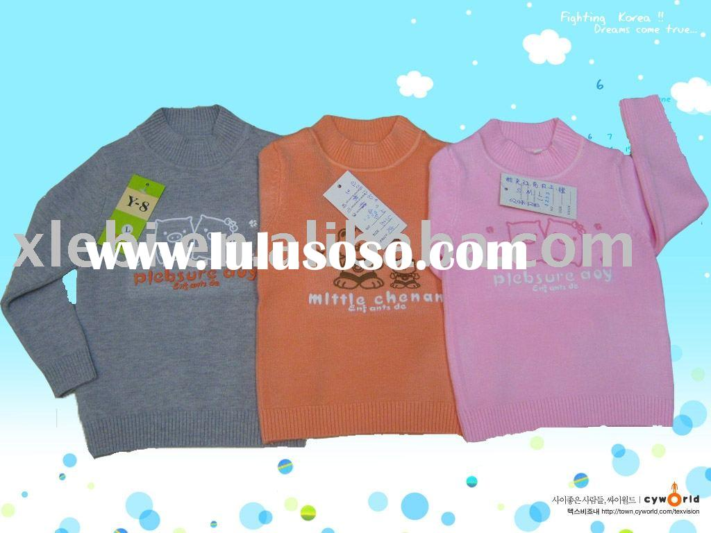 hot cute kids clothes,child wear,children garment for baby's pullover