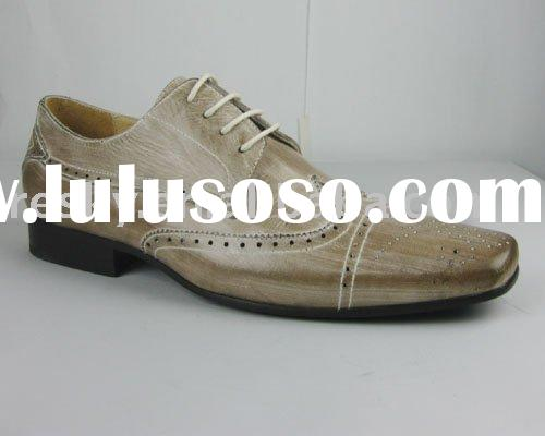latest leather men dress shoe,2011 fashion men dress shoes