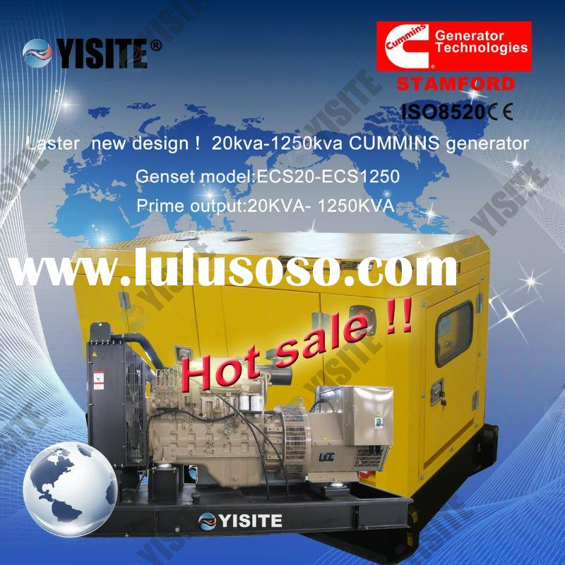 latest price and new design ! 20kva-1250kva CUMMINS generator price list