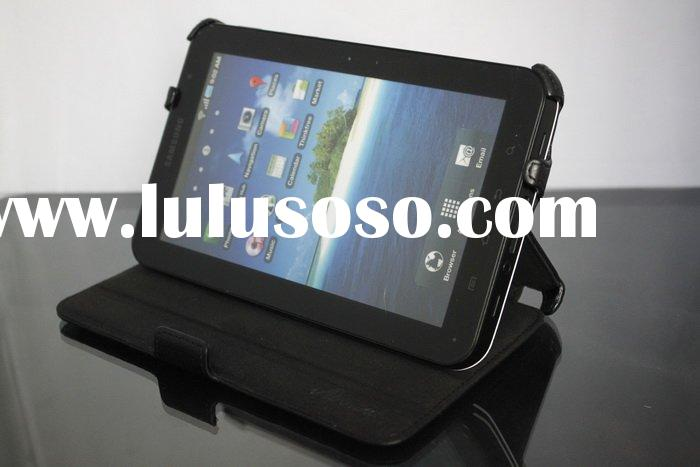 leather case for Samsung Galaxy Tab P1000 high quality leather case for Samsung Galaxy Tab P1000