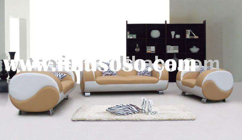 leather modern sofa set