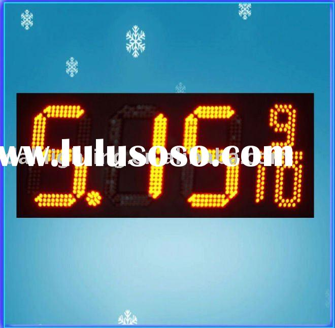 led gas price sign,waterproof,for gas station