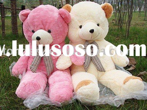 lovely couple teddy bear plush toy/beautiful couple stuffed teddy bear plush toy