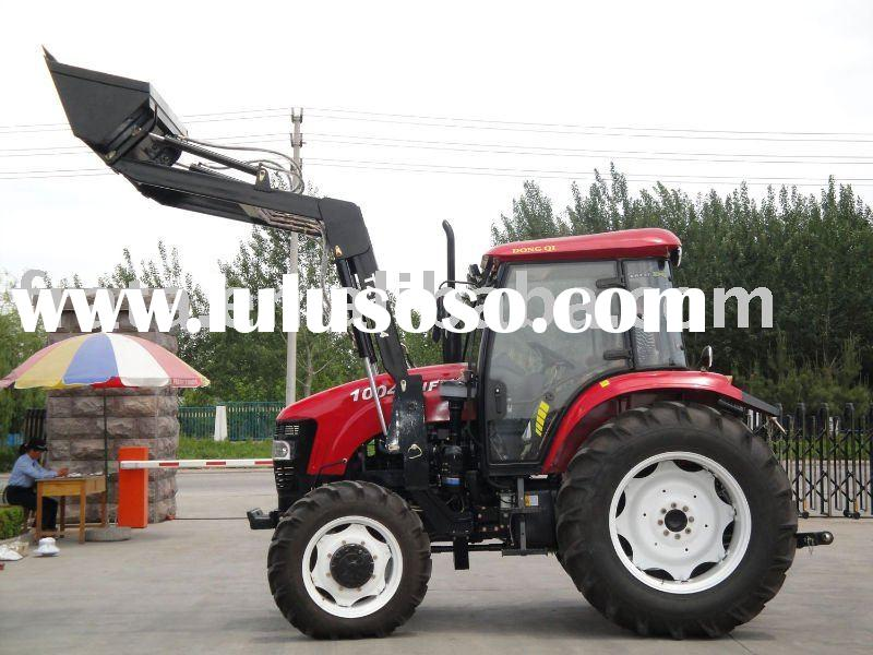 low price 50 HP 4WD FARM front loader tractor with front loader from 30HP TO 160hp