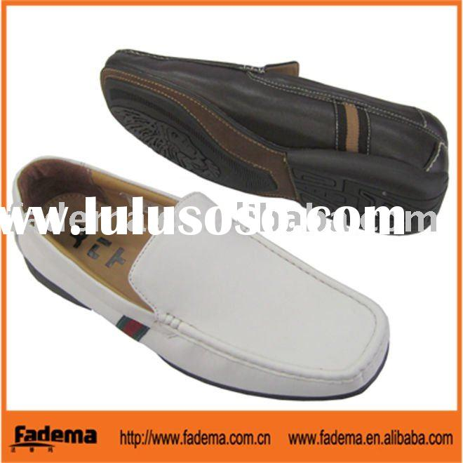 man pu shoes made in China