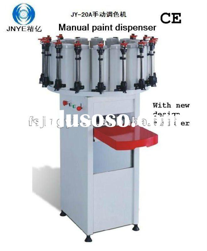 Paint tinting dispenser paint tinting dispenser for Paint tinting machine