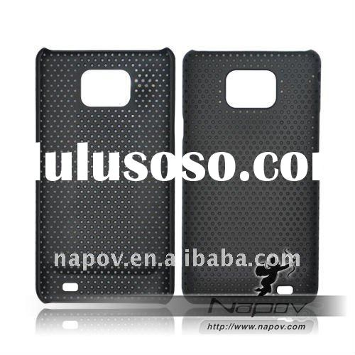 mobile phone back mesh cover case for samsung i9100 galaxy s2 s 2