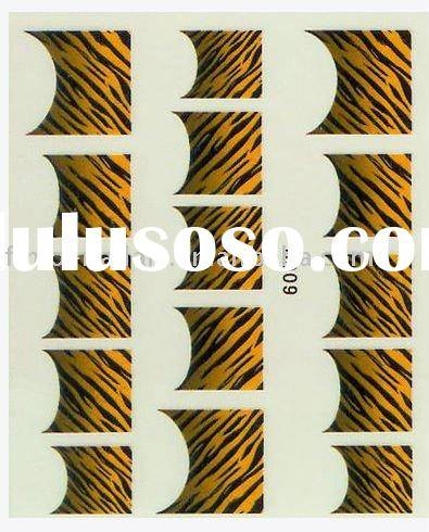 nail sticker,tiger skin sticker,nail art sticker for nail beauty(B009)