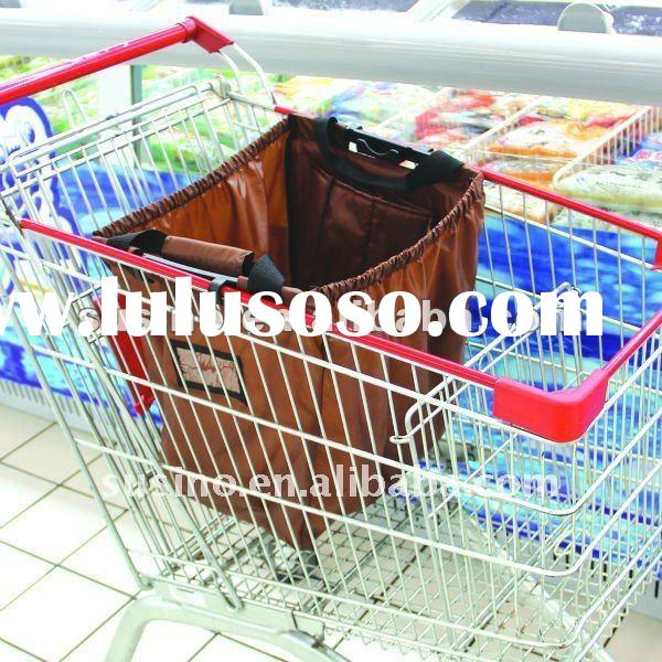 new style supermarket bag for shopping cart
