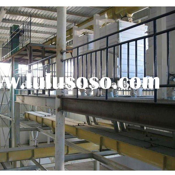 palm oil processing refinery plant