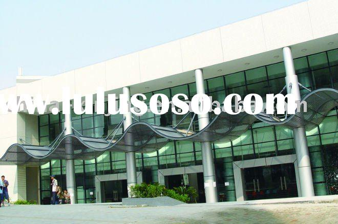 perforated aluminum awning/decorative sun louver/special ceiling tiles
