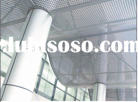 perforated aluminum suspend sunshade board/sun louver/special ceiling tiles
