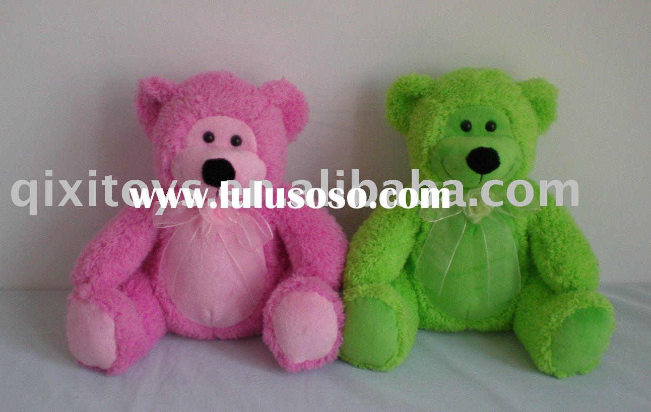 plush color teddy bear soft toy