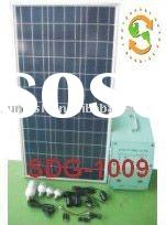portable solar generator system use for lighting