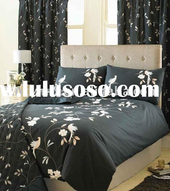 printed cotton duvet cover