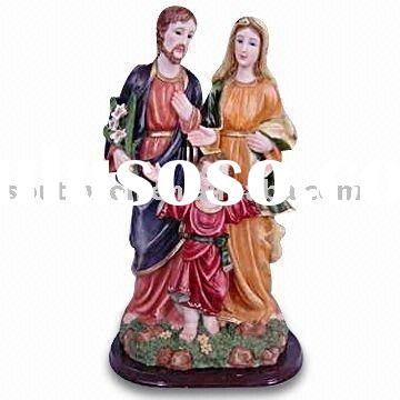 resin religious statues for home decoration
