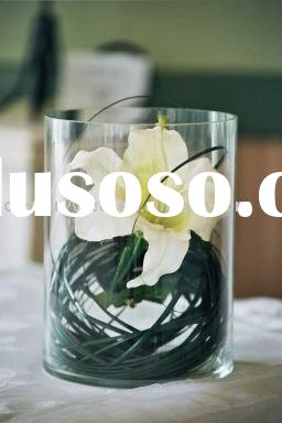 4.5 Inch Clear Glass Round Cylinder Vase for Unique Wedding