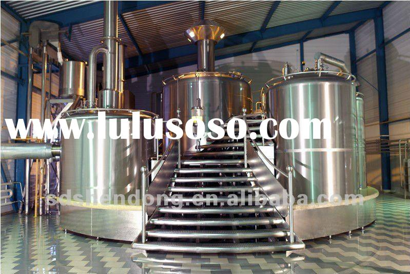 shendong 2BBL hotel alcohol distillation equipment, bar beer equipment, stainless steel beer brewery
