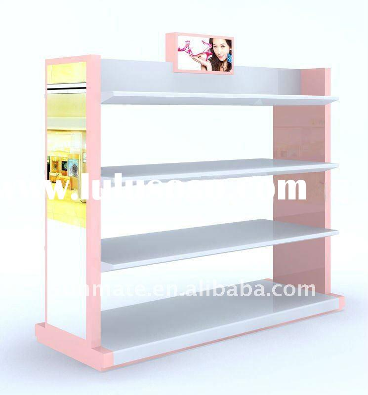 shoe rack designs wood shop fixture