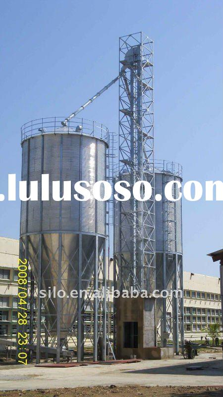 small hopper bottom degree silos
