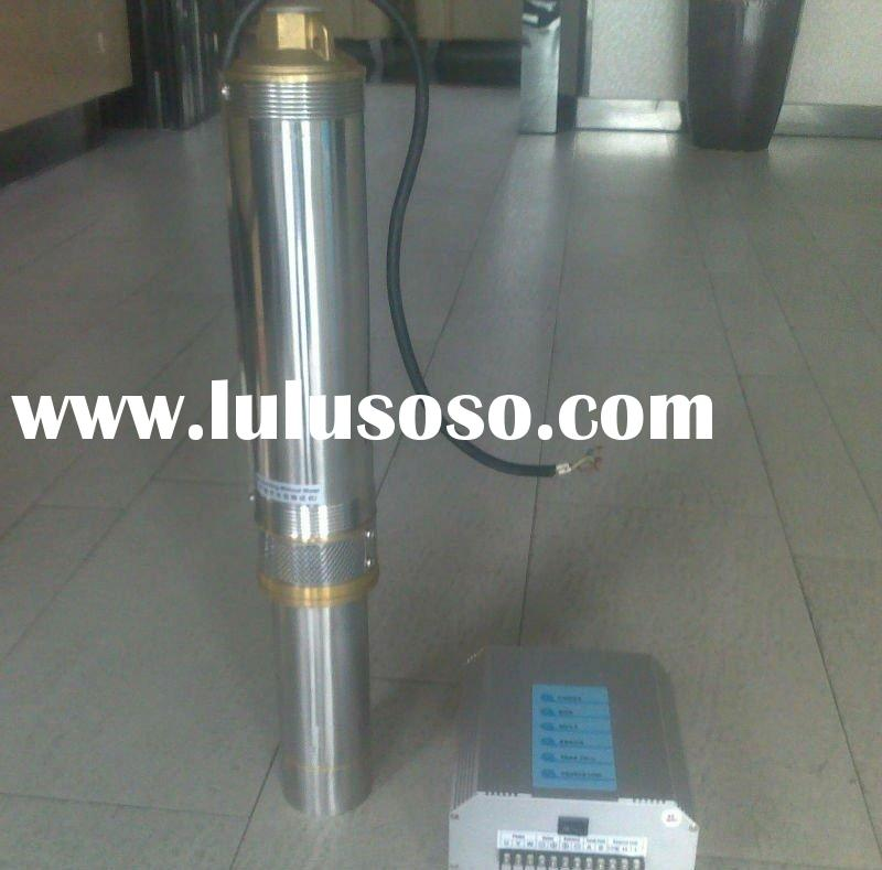 solar deep well water pump
