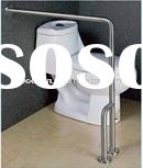 stainless steel handicap toilet grab bars