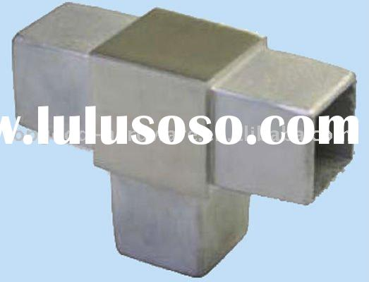 stainless steel square tube connector