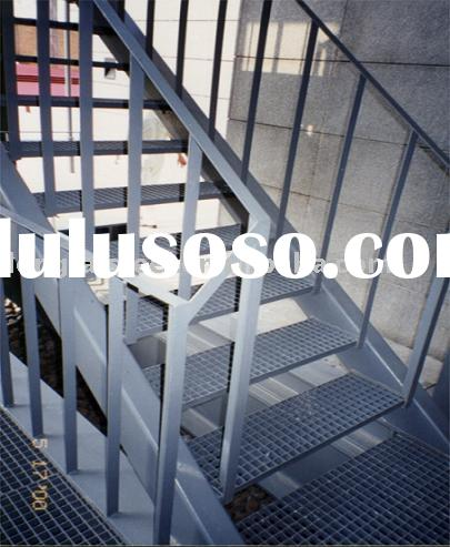 steel stair metal building steel building material