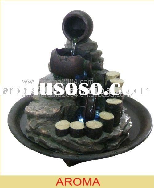 tabletop polyresin water feature indoor fountains