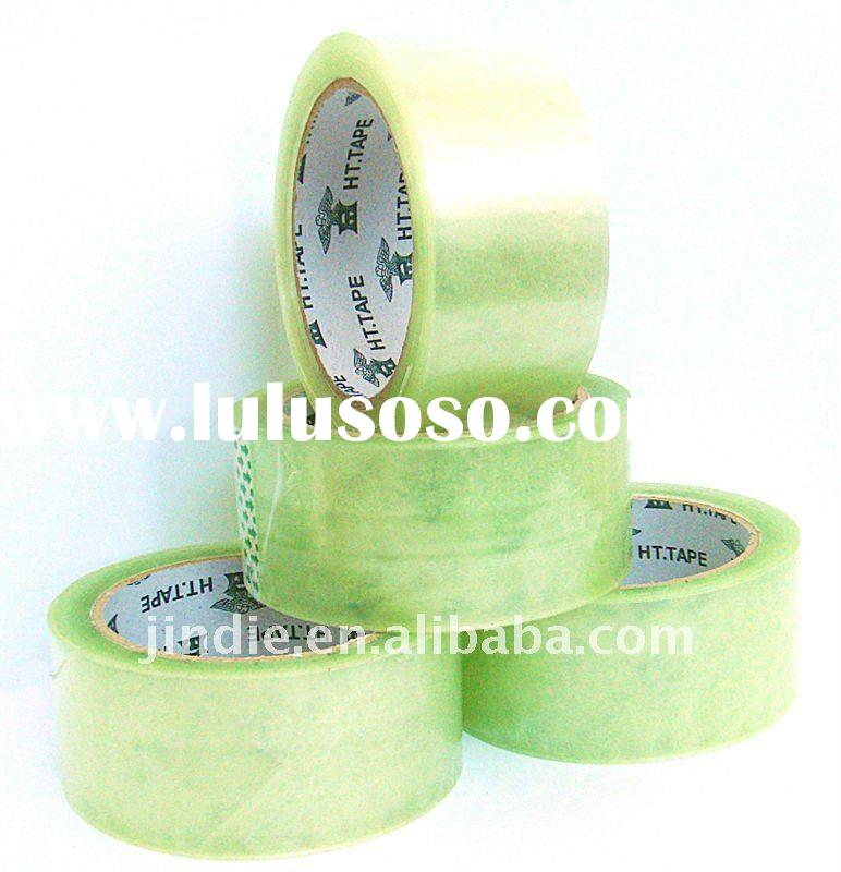 transparent clear BOPP packing tape