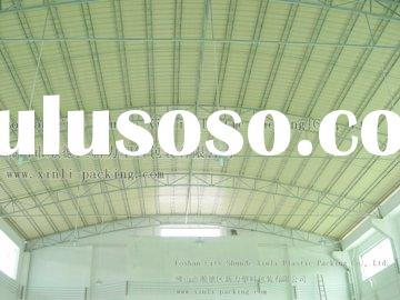 tri-ply New roofing materials triple-layer plastic UPVC Corrugated Roof Sheet