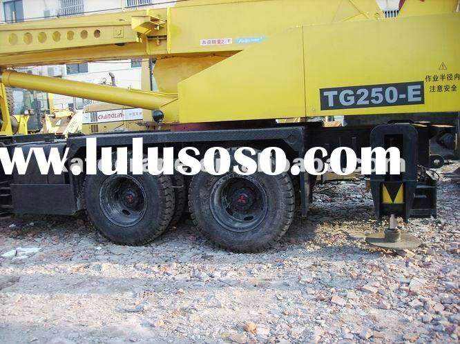 used machine 25ton tadano truck Crane Japan