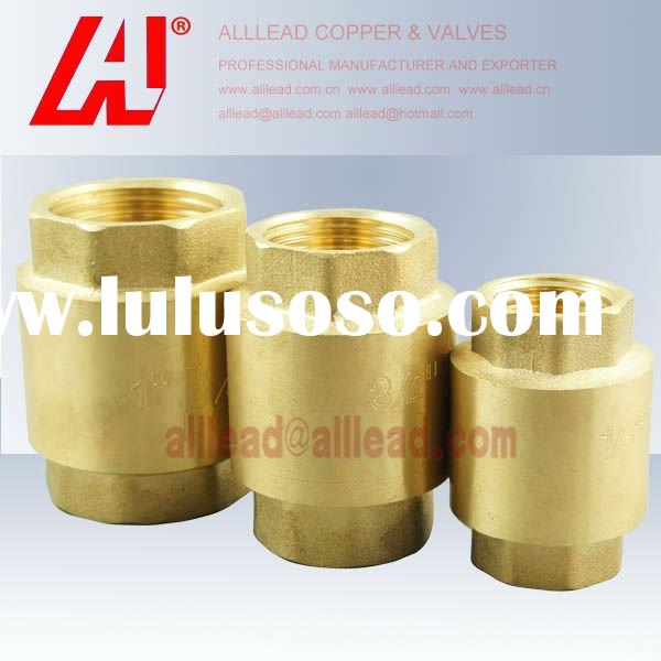 vertical type hot forged brass spring check valve