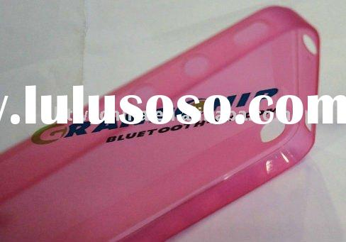 0.2mm Ultra Thin TPU New Cover Case for iPhone 4 5 Colos