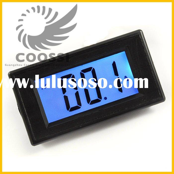 0-50A & shunt 50A Blue LCD Panel Digital AC Current Meter [K178]