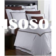 100% COTTON DYED DUVET COVER SET bed cover set
