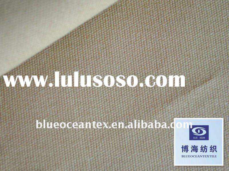100% Cotton Canvas 7+7X7+7/68X38 350Gsm / 10.5 OZ Cotton Duck Cloth Fabric Cotton Duck Canvas Factor