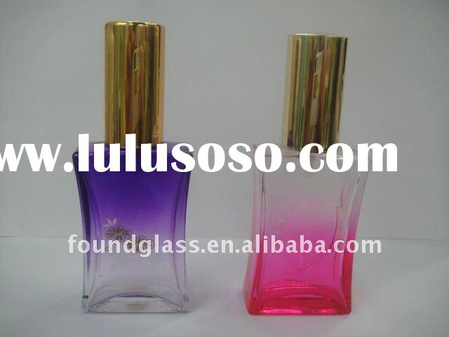 100ml colored change perfume glass bottles good glass craft &decorative bottles cosmetic glass b